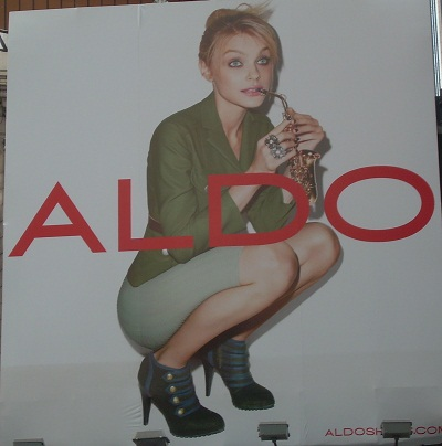 Aldo Times Square billboard