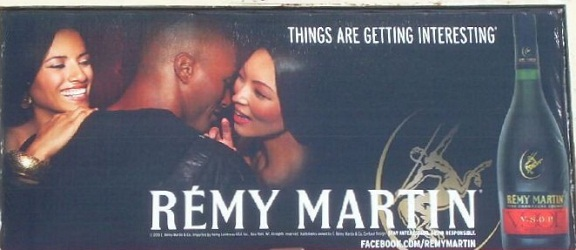 Remy Martin Things Are Getting Interesting billboard