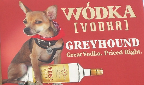 Wodka Vodka Greyhound billboard