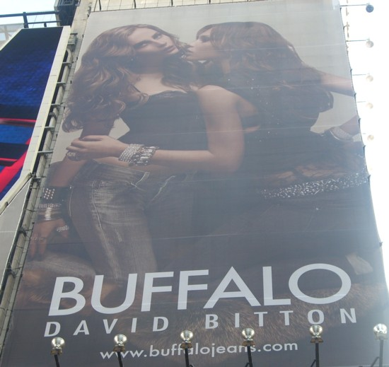 Buffalo Times Square billboard