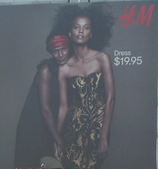 H&M New York City Meatpacking District billboard - 2011-1