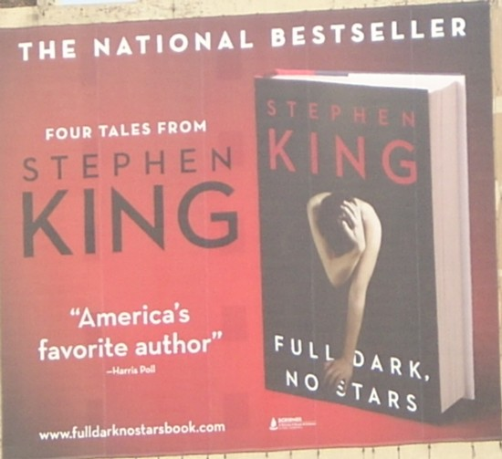 Steven King - Full Dark, No Stars - NYC 1-2011
