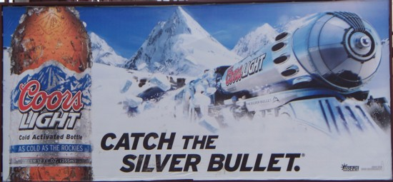 Coors Light Catch the Silver Bullet 0511