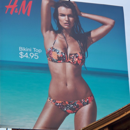 H&M New York City Meatpacking District billboard – 2011-5