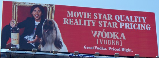 Wodka Vodka billboard NYC - 09-11