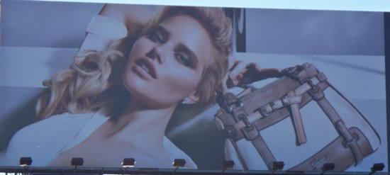 Guess Jeans billboard – NYC – 10-11